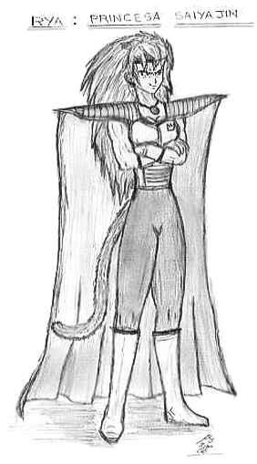 La Princesa Rya (dibujada por Alondra)